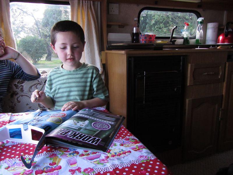 First Caravan trip May 2011 055