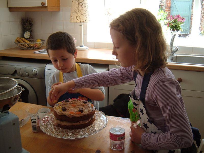 Cake making june 2011 001